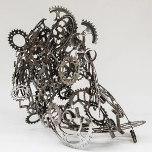 Eric_Lorenz_Double_Pieces de cycles,_acier
